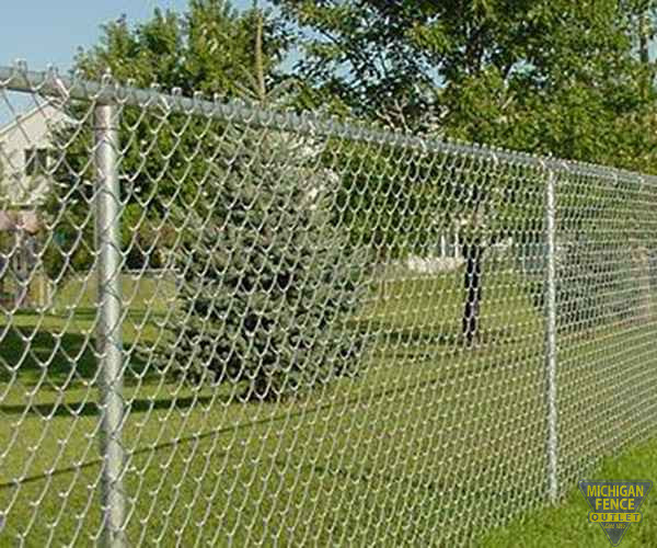 Galvanized chain link fence michigan outlet