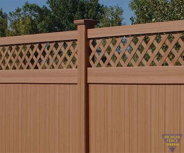 Vinyl Fencing Michigan Fence Outlet