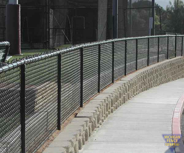 Vinyl Coated Chain-link Fence