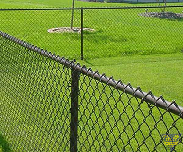 Galvanized Chain Link Fence | Michigan Fence Outlet