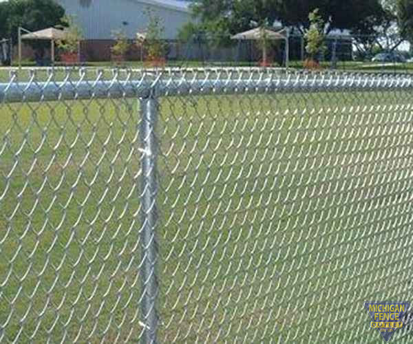 Galvanized Chain Link Fence Michigan Fence Outlet