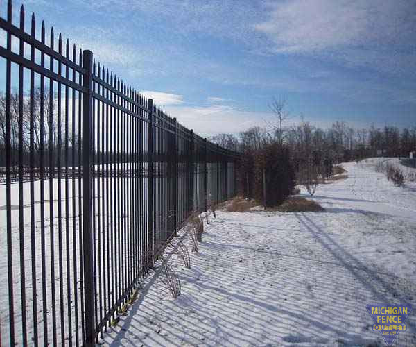 Montage Plus Commercial Ornamental Steel Fence