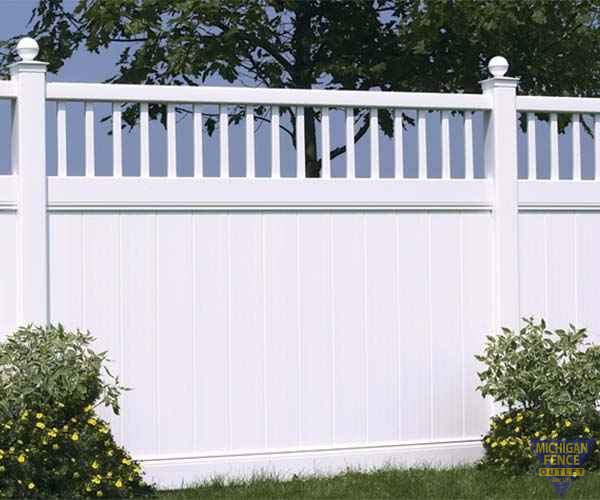 Chesterfield Victorian Vinyl Fence
