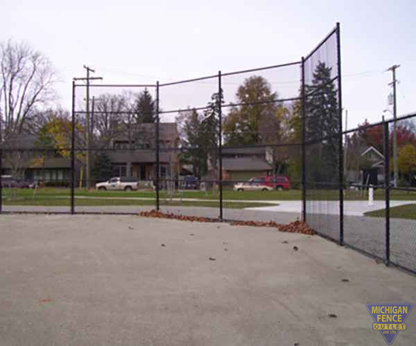 Vinyl Coated Chain-link Baseball Diamond Fence